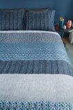 Beddinghouse Flanel Dekbedovertrek Evans Blue 21671_