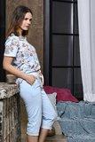Ringella Bloomy T-Shirt Summer Sky 0251411 | 22023_