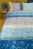 Oilily Dekbedovertrek Blooming Stripe Blue 22449_