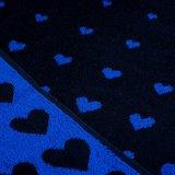 Bunzlau Castle Keukendoek Hearts Dark Blue 5315 | 22889_