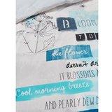 Beddinghouse Dekbedovertrek Blooming Day Blue 15145_