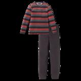 Schiesser Badstof Pyjama 004 Espresso 163271 | 20075_