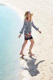 Pastunette Beach Strandjurk 999 Zwart/Wit 16191-115-2 | 20354_
