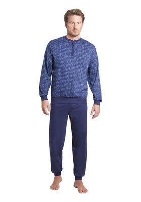 Hajo Pyjama Blue 53252 | 21215