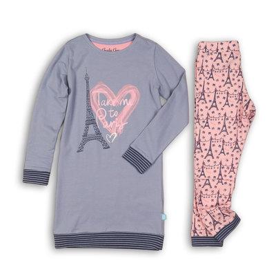 Charlie Choe Pyjama Long Pullover Set Paris Mon Cherie 41B-33017B | 21485