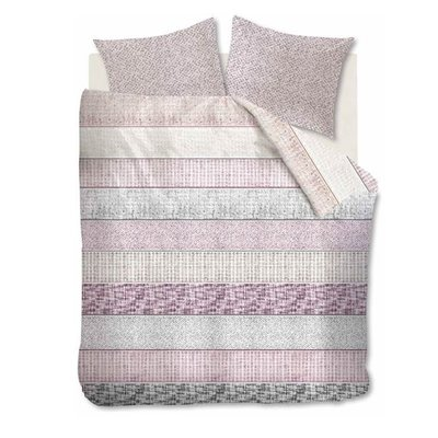 Riviera Maison Dekbedovertrek Fancy Boucle Pink 21514