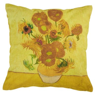 Beddinghouse Sierkussen Van Gogh Sunflower Yellow 21516