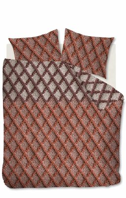 Beddinghouse Flanel Dekbedovertrek Ivar Red 21632