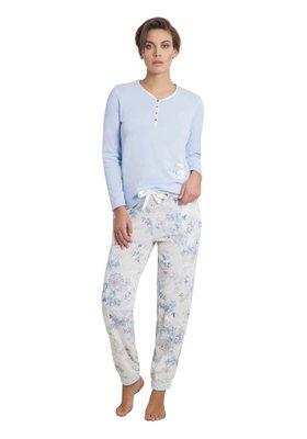 Hajo Klima Komfort Pyjama Light Blue 45114   21628