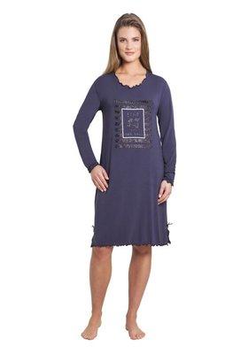 Hajo Nachthemd Grey 45175 | 21443
