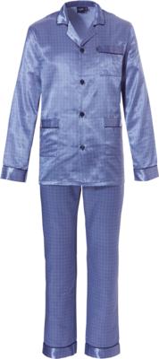 Robson Pyjama Satijn Blauw 27192-714-6 | 21185