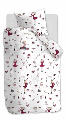 Beddinghouse Kids Dekbedovertrek Fashion Pink 21675