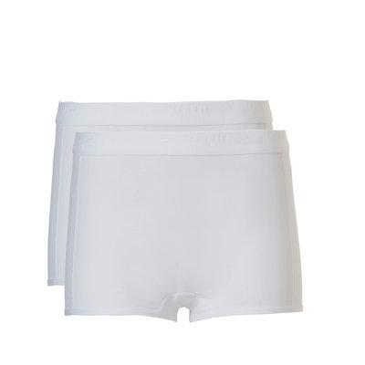 Ten Cate Girls Teens Shorts 2-Pack White 31125 | 20933