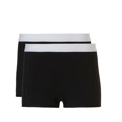 Ten Cate Girls Teens Shorts 2-Pack Black 31125 | 20935
