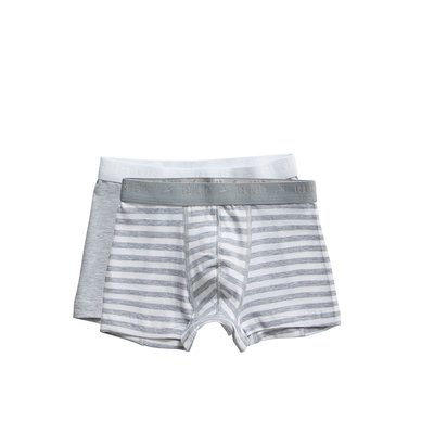 Ten Cate Boys Basic Shorts Grey Stripe 31122 | 21565