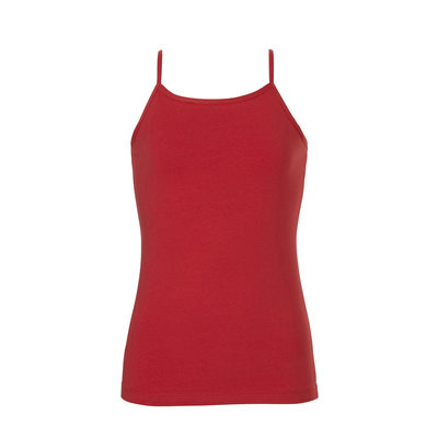 Ten Cate Girls Teens Spaghetti Shirt Ribbon Red 30973 | 21283