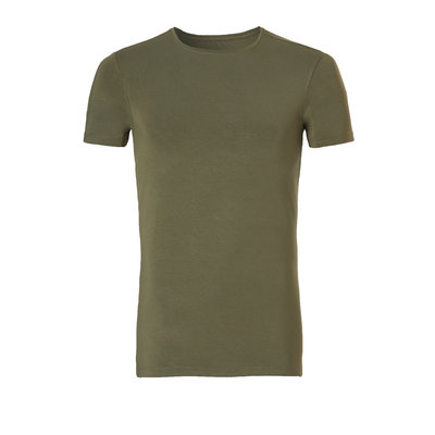 Ten Cate Basic Bamboo T-Shirt Burnt Olive 30860 | 21171