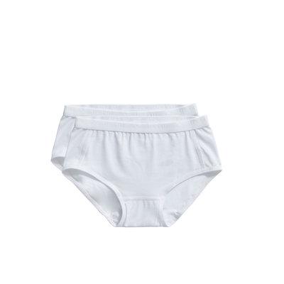Ten Cate Girls Basic Brief 2-Pack White 31119 | 20911