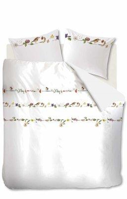 Marjolein Bastin Flanel Dekbedovertrek Flowery White 21744