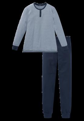 Schiesser Dames Pyjama Donkerblauw 168845 | 21818