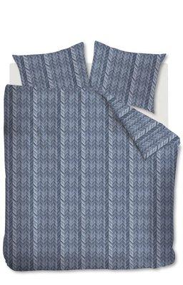 At Home Dekbedovertrek Fold Blue 21091