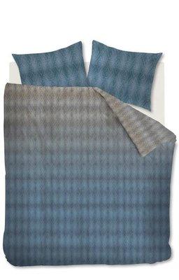 Beddinghouse Dekbedovertrek Calton Blue Grey 20583