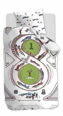 Beddinghouse Kids Dekbedovertrek Race Track 21676