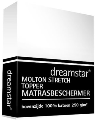 Dreamstar Molton Stretch Topper 20283