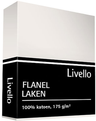 Livello Flanel Laken Ecru LAFLA35EC | 562