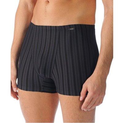 Mey Men Short Black Classic Zwart/Antraciet 60061 | 14715