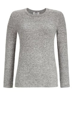 Ringella Solo Per-Me Shirt 924 Grau Melange 9538405P | 21357