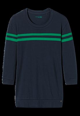 Schiesser Dames Shirt 804 Nachtblauw 167247 | 21169