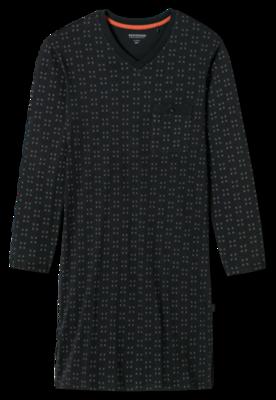 Schiesser Sleepshirt 640 Whisky 163650 | 19667