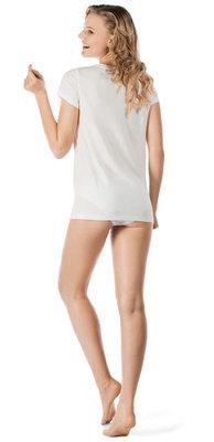 Skiny Shirt Korte Mouw Ivoor 081894 | 18597
