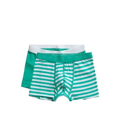 Ten Cate Boys Basic Shorts Green Stripe 31122 | 21563