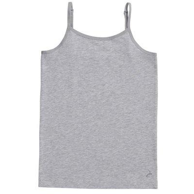 Ten Cate Girls Basic Spaghetti Shirt Light Grey Melee 30053 | 17533