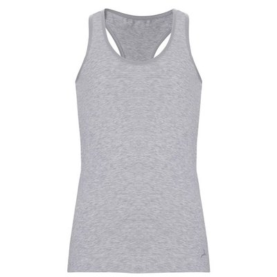 Ten Cate Girls Teens Basic Racerback Shirt Light Grey Melee 30058 | 17557