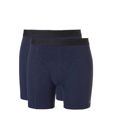 Ten Cate Men Basic Bamboo Long Shorts Black Iris 30863 | 21552