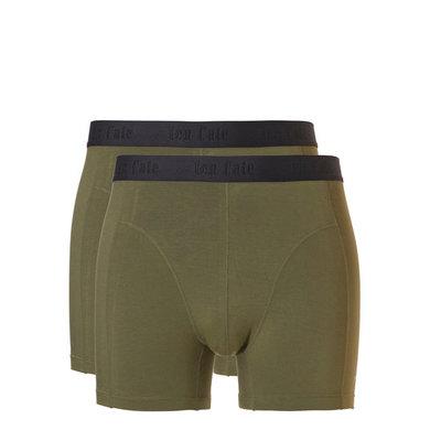 Ten Cate Men Basic Bamboo Shorts Burnt Olive 30859 | 21549
