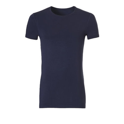 Ten Cate Men Basic Bamboo T-Shirt Black Iris 30860 | 21172