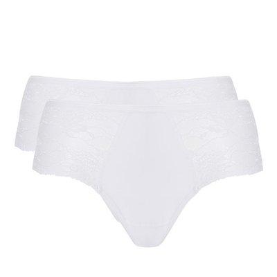 Ten Cate Women Basic Lace Midi White 30201 | 17449