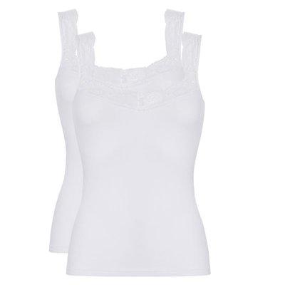 Ten Cate Women Basic Lace Shirt White 30205 | 17465