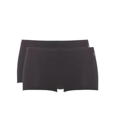 Ten Cate Women Short 2-Pack Zwart 30682 | 19983
