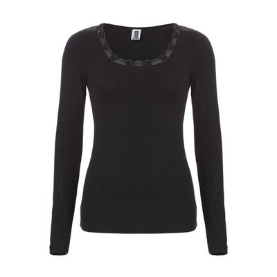 Ten Cate Women Thermo Lace Long Sleeve Black 30238   18221