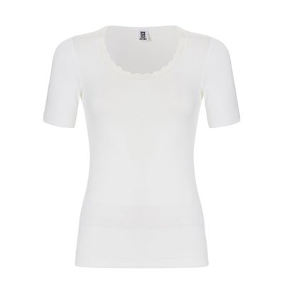 Ten Cate Women Thermo Lace T-Shirt Snow White 30237 | 18218