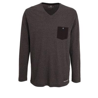 Tom Tailor Shirt 931 Antraciet 71024 -5609   19968
