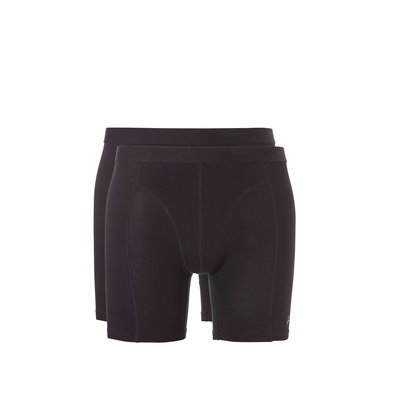 Ten Cate Men Basic Bamboo Long Shorts Black 30863 | 20277