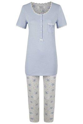 Ringella Lingerie Pyjama Lichtblauw 0261212   22047