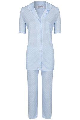 Ringella Lingerie Pyjama Lichtblauw 0261214   22115