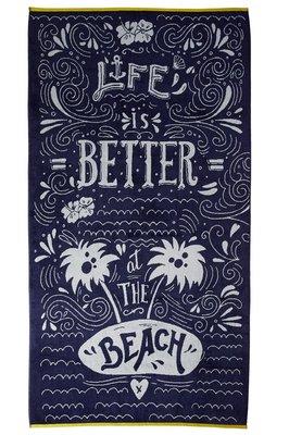 KAAT Strandlaken Beach Life Blue 22171